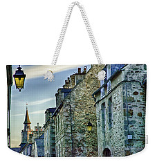 Stone Walled Weekender Tote Bag