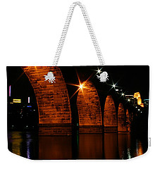 Stonearch Bridge - Minneapolis Weekender Tote Bag