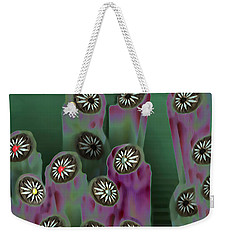 Stoned Flowers Weekender Tote Bag