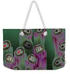 Stoned Flowers Weekender Tote Bag