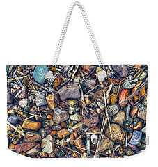 Weekender Tote Bag featuring the photograph Dry Creek by Wayne Sherriff