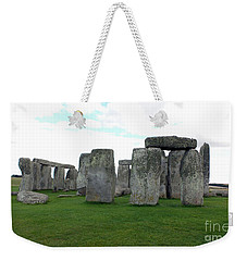 Weekender Tote Bag featuring the photograph Stonehenge 1 by Francesca Mackenney