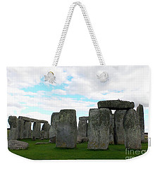 Weekender Tote Bag featuring the photograph Stonehenge 2 by Francesca Mackenney