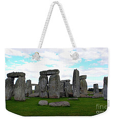 Weekender Tote Bag featuring the photograph Stonehenge 3 by Francesca Mackenney