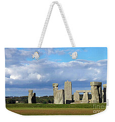 Weekender Tote Bag featuring the photograph Stonehenge 4 by Francesca Mackenney