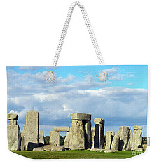 Weekender Tote Bag featuring the photograph Stonehenge 5 by Francesca Mackenney