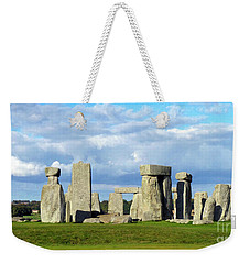 Weekender Tote Bag featuring the photograph Stonehenge 6 by Francesca Mackenney