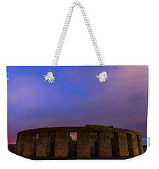 Weekender Tote Bag featuring the photograph Stonehenge Sunrise by Cat Connor