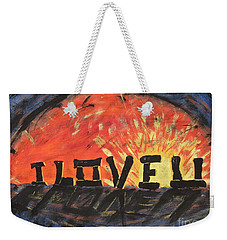 Stonehenge Sunrise Weekender Tote Bag