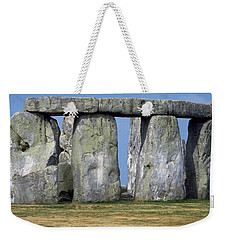 Weekender Tote Bag featuring the photograph Stonehenge by Travel Pics