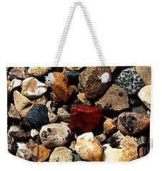 Stones 160422 Weekender Tote Bag by Jeff Iverson