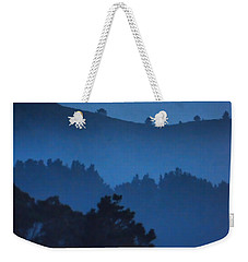 Stood Alone On The Mountain Top Weekender Tote Bag