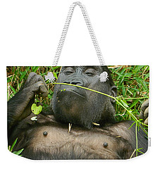 Stop And Smell The Grass Weekender Tote Bag