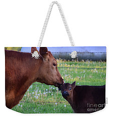 Weekender Tote Bag featuring the photograph Stop It Ma by Mark McReynolds