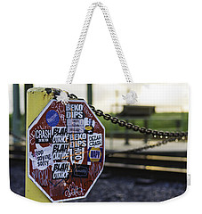 Stop Sign Ala New Orleans, Louisiana Weekender Tote Bag