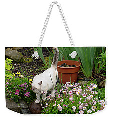 Stop To Smell Flowers Weekender Tote Bag