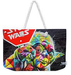 Peace Is Better Weekender Tote Bag