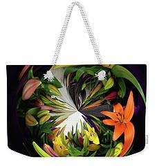 Store Bought Lilies Weekender Tote Bag