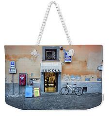 Storefront In Rome Weekender Tote Bag