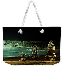 Storforsen In Night Weekender Tote Bag by Tamara Sushko
