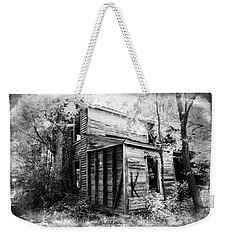 Weekender Tote Bag featuring the photograph Stories by Jessica Brawley