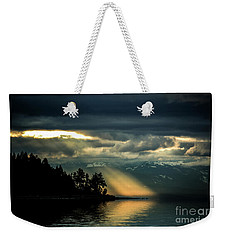 Storm 2 Weekender Tote Bag by Elaine Hunter