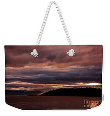Storm 3 Weekender Tote Bag by Elaine Hunter