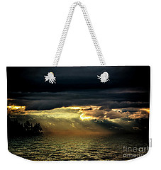 Storm 4 Weekender Tote Bag by Elaine Hunter