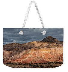 Storm Above Ghost Ranch Mountains Weekender Tote Bag