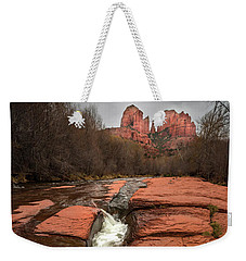 Storm At Cathedral Rock Weekender Tote Bag