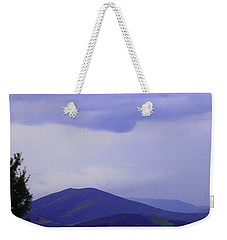 Storm At Lewis Fork Overlook 2014a Weekender Tote Bag