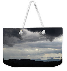 Storm At Lewis Fork Overlook 2014b Weekender Tote Bag