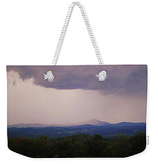 Storm At Lewis Fork Overlook Weekender Tote Bag