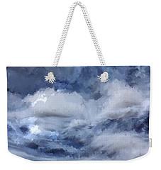 Storm At Sea Weekender Tote Bag