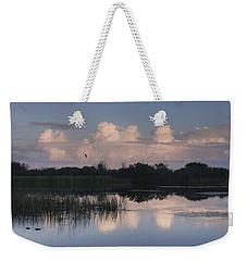 Storm At Sunrise Over The Wetlands Weekender Tote Bag