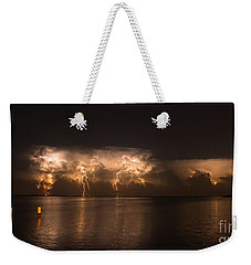 Storm Before Dawn Weekender Tote Bag