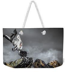 Storm Birds Weekender Tote Bag