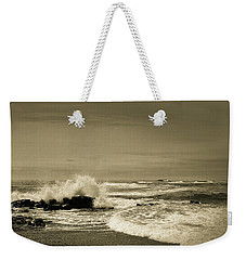 Weekender Tote Bag featuring the photograph Storm Brewing by Samuel M Purvis III