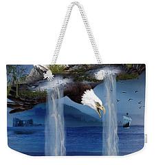 Storm Catcher Weekender Tote Bag