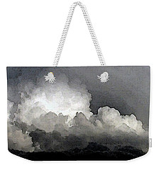 Storm Clouds Are Brewin' Weekender Tote Bag by Methune Hively