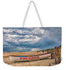 Storm Clouds In Stone Harbor Weekender Tote Bag