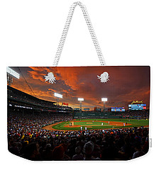 Storm Clouds Over Fenway Park Weekender Tote Bag