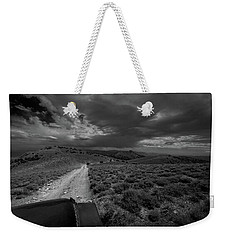 Storm Clouds Over The 4x4 Trail Weekender Tote Bag