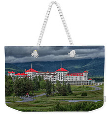 Storm Clouds Over The Mount Washington Hotel Weekender Tote Bag