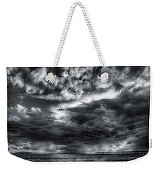 Storm Clouds Ventura Ca Pier Weekender Tote Bag