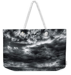 Storm Clouds Ventura Ca Pier Weekender Tote Bag