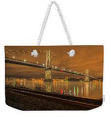 Storm Crossing Weekender Tote Bag by Angelo Marcialis