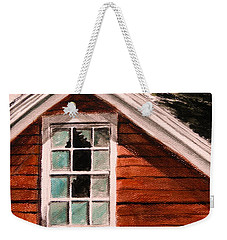 Storm Damage Weekender Tote Bag
