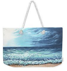 Storm Front Weekender Tote Bag