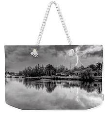 Storm In Paradise Weekender Tote Bag